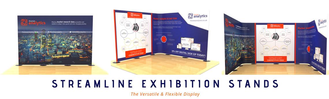 Streamline exhibition stands