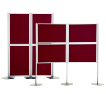 Small Panel Display Stands from Go Displays