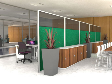 Acoustic Screens from Go Displays