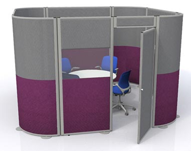 Acoustic Office Pods from Go Displays