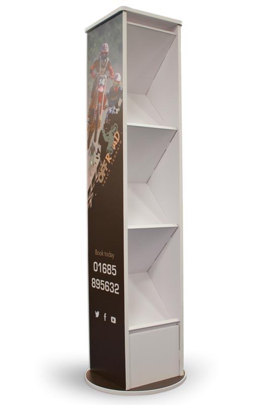 Brandon brochure dispenser, ideal for Universities, Schools and Colleges