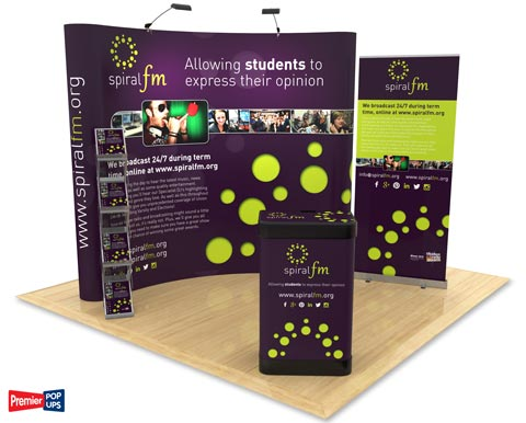 Exhibition Stand Design from Go Displays to help you make the most of your stand space