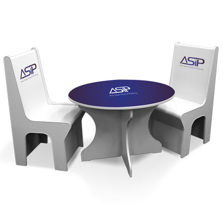 Exhibition Tables and Chairs
