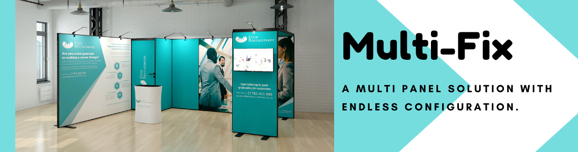 Multi fix modular display stand from Go Displays