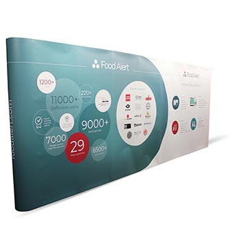 Pop up exhibition walls from go displays