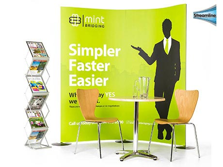 Streamline Display Stands from Go Displays