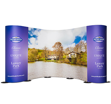 Streamline exhibition stands and flexible displays