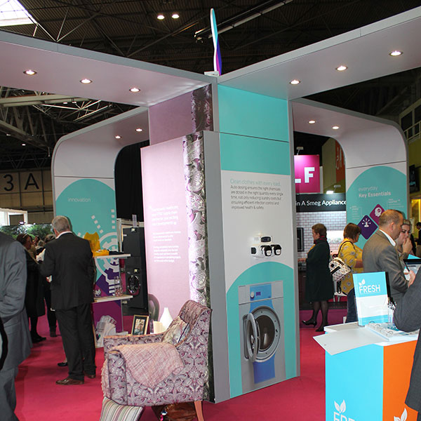 Countrywide Healthcare Pro Hire Exhibition Stand