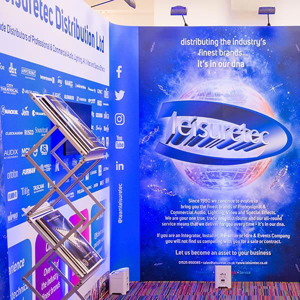 Leisuretec Distribution Exhibition Stand