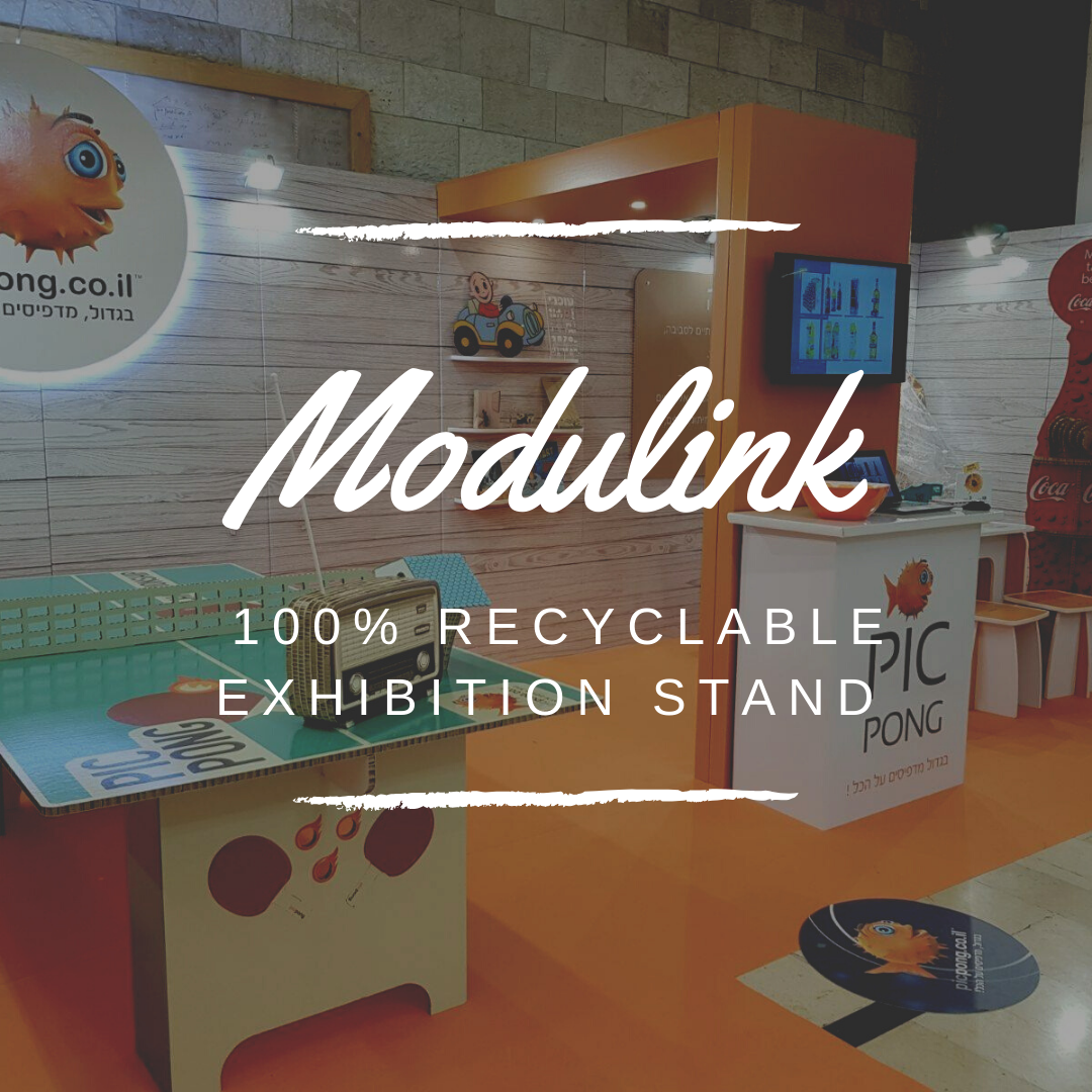 Modulink Eco-friendly Exhibition Stand