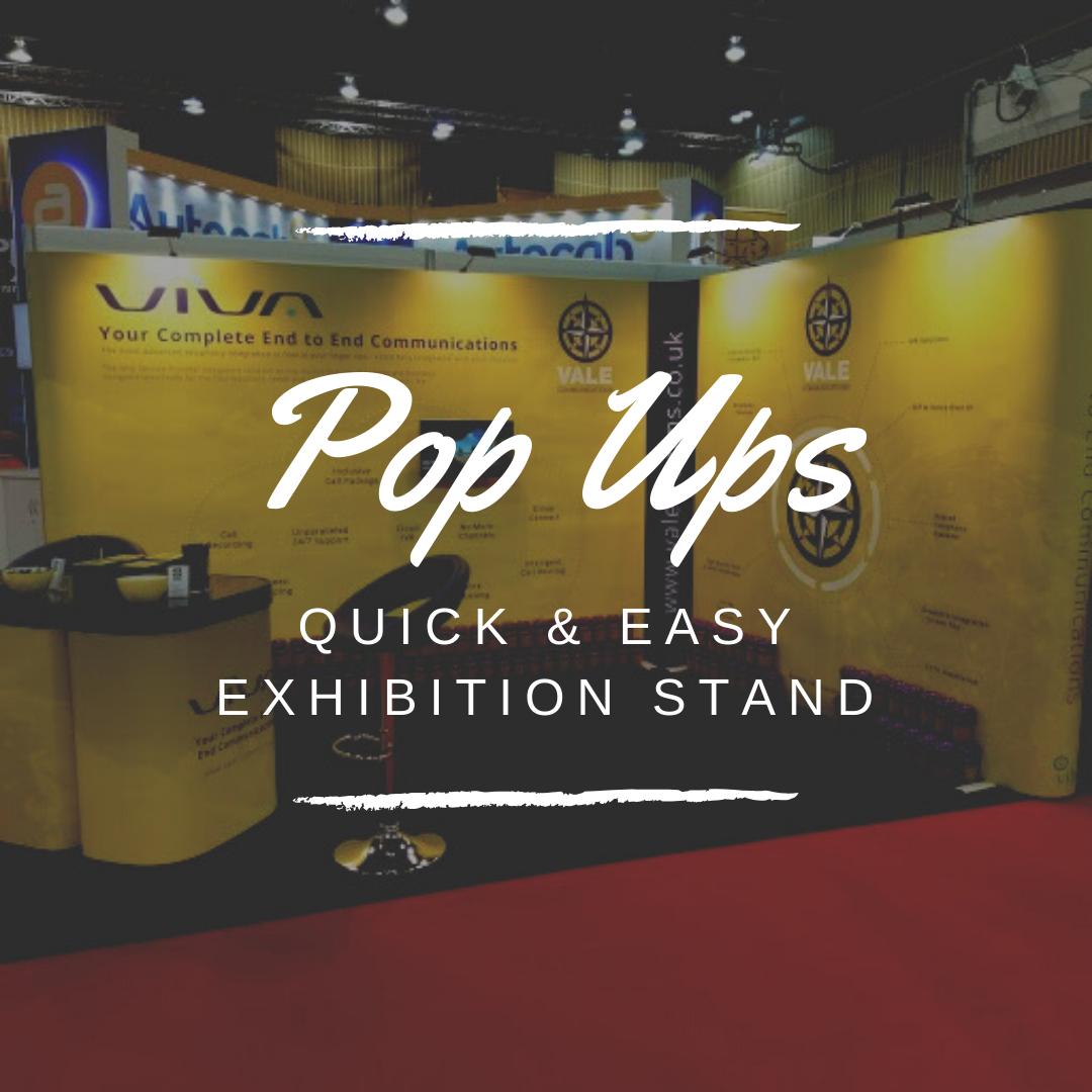 pop up exhibition stands