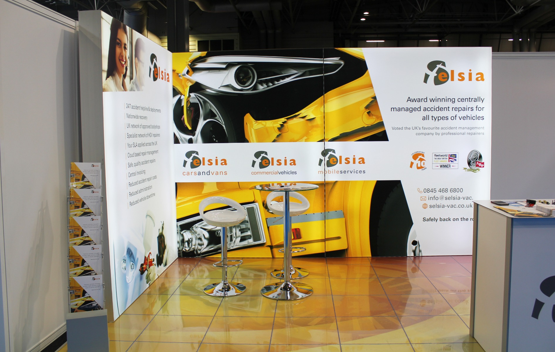 Selsia Exhibition Stand