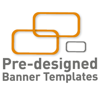 Pre-designed Banner Templates