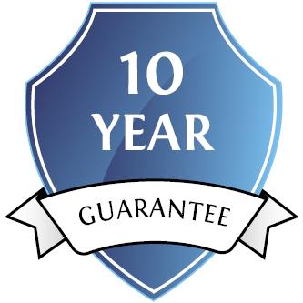 10 year manufacture guarantee
