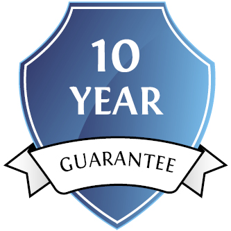 10 year manufacturers guarantee